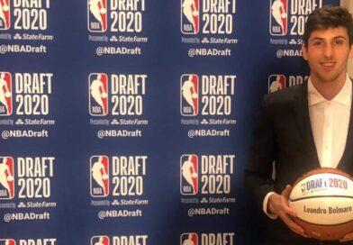 Leandro Bolmaro, elegido por los Knicks y traspasado a los Timberwolves