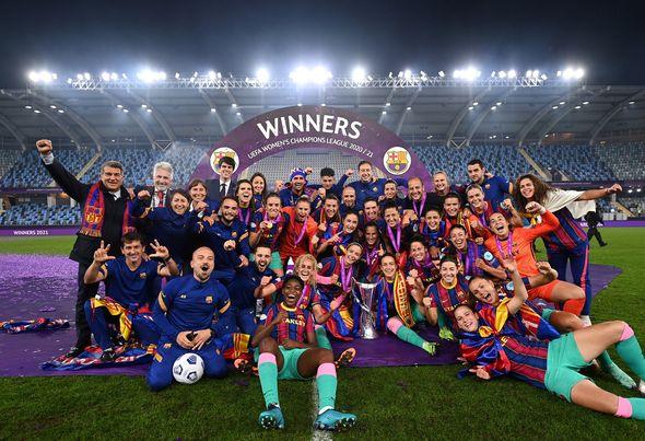 Barcelona Femeni, campeón de la Champions